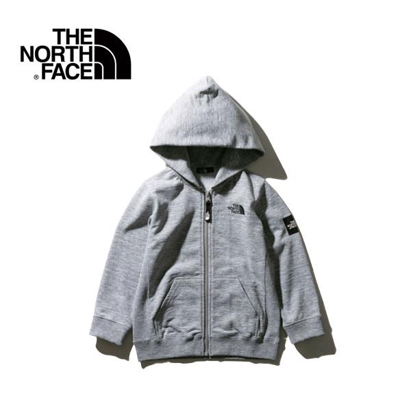 THE NORTH FACE ノースフェイス アウトドア SQUARE LOGO F/Zスウエット キッズ20 春夏 NTJ61921-Z