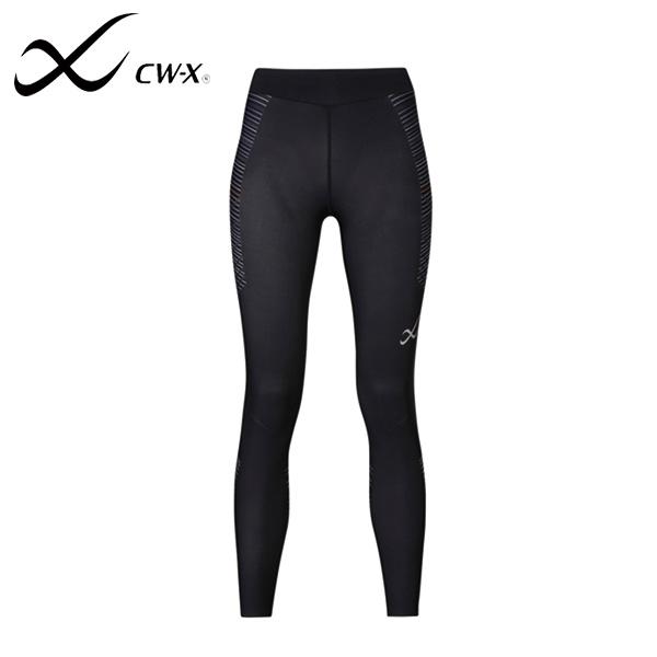 Wacoal/ワコール CW-X ウィメンズ スポーツ タイツ HPY349-BU ブラック ランニング マラソン ウェア レディース