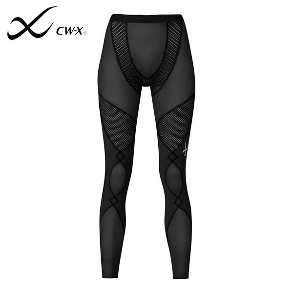 Wacoal/ワコール CW-X ウィメンズ スポーツ タイツ HXY249-BL EXPERTモデル クールタイプ マラソン ランニング ジョギング ウォーキング 速乾 ストレッチ