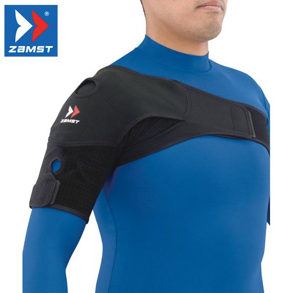 ZAMST/ザムスト ショルダーラップ 肩 サポーター 左右兼用 スポーツ 日常生活 メンズ レディース Sサイズ