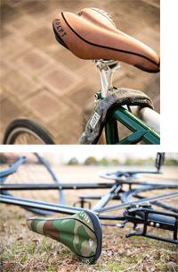 アデプト ハイライド 【カモフラージュ】 ADEPT HYRIDE 自転車 サドル