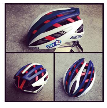 ビービービー イカロス 【FDJレプリカモデル】 BBB ICARUS BHE-05 自転車 ヘルメット