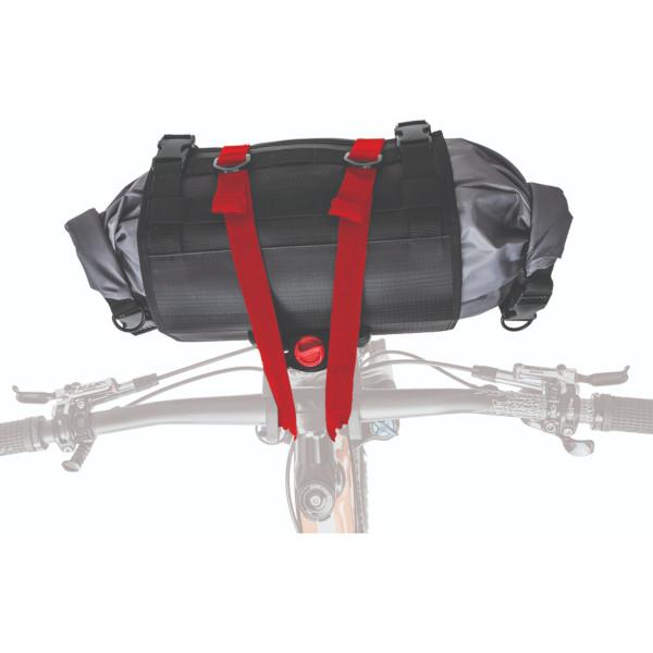 ブラックバーン アウトポストハンドルバーロール&ドライバッグ ブラック BLACKBURN OUTPOST HANDLEBAR ROLL & DRY BAG