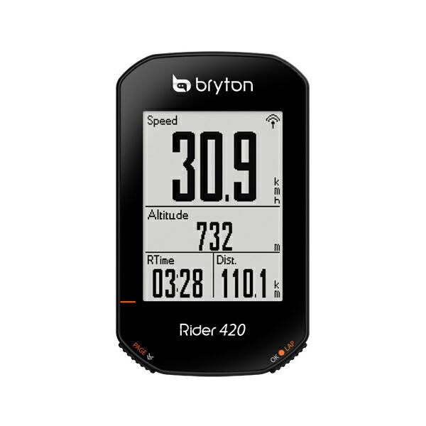 ブライトン Rider420E Bryton ライダー420E[SPOKE NET]