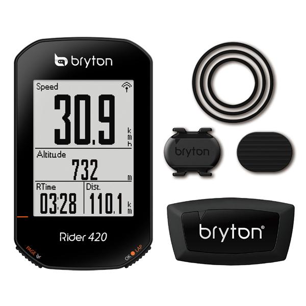 ブライトン Rider420T(ケイデンス・心拍センサー付) Bryton ライダー420T[SPOKE NET]