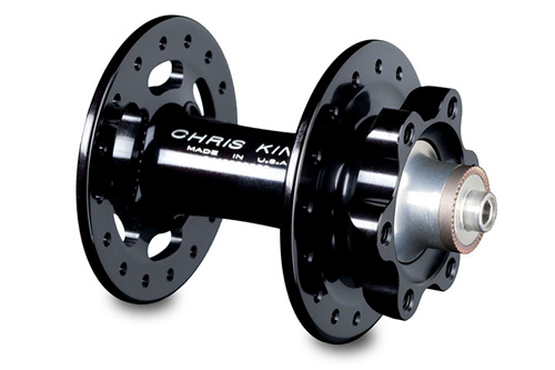 クリスキング R45ディスクフロント【セラミックベアリング仕様:32H:ブラック】CHRIS KING R45 DISC FRONT 自転車 ハブ