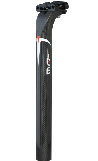 モスト TAIL C-MAX 3K カーボンシートポスト ブラック 31.0mm