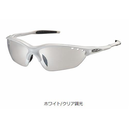 オージーケーカブト ビナートX フォトクロミック ホワイト サングラス