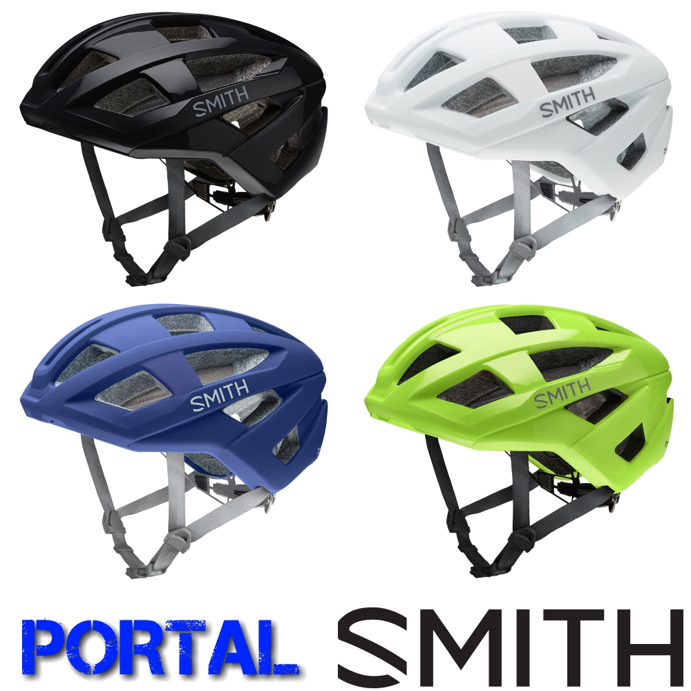 SMITH(スミス) PORTAL(ポータル) ロードバイク向けヘルメット[SPOKE NET]