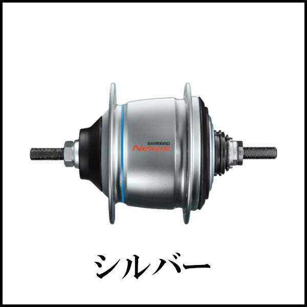 シマノ NEXUS SG-C6061-8V 内装8S Di2対応 シルバー 36H