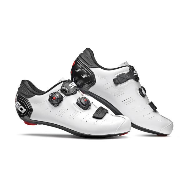 シディー エルゴ5メガ ホワイト/ブラック 2020年モデル SIDI ERGO 5 MEGA ロード用シューズ