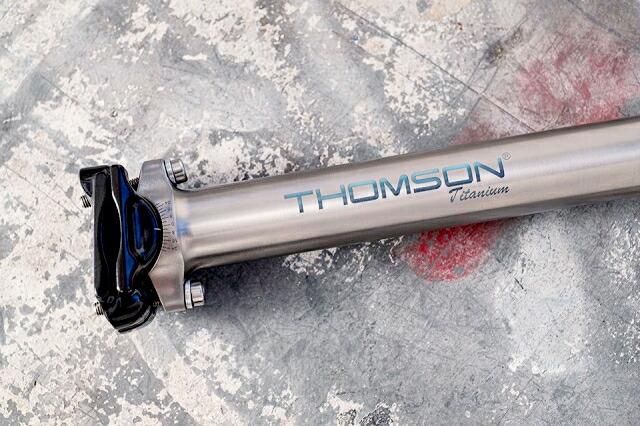 トムソン マスターピース チタニウムシートポスト THOMSON Masterpiece Titanium Seatpost 27.2mm[SPOKE-NET]