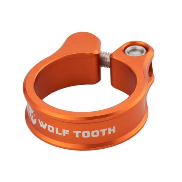 メール便送料250円 ウルフトゥース Wolf スピード対応 全国送料無料 売り出し Tooth Seatpost Clamp Orange WOLF TOOTH 36.4mm