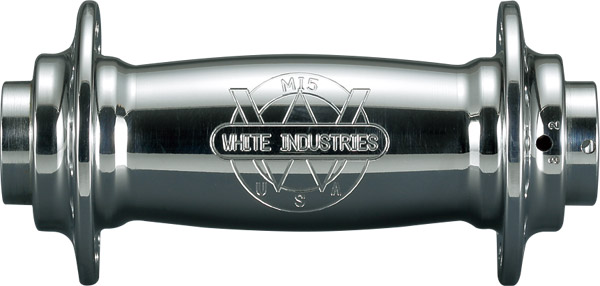 WHITE INDUSTRIES ホワイトインダストリーズ M15 シルバー フロントハブ
