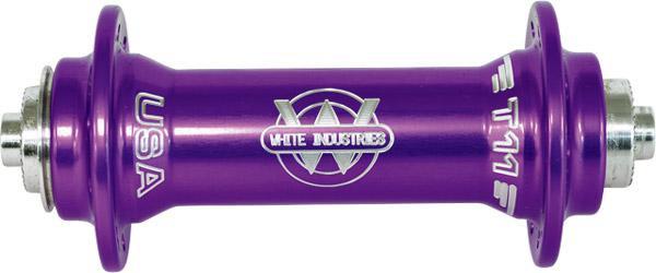WHITE INDUSTRIES ホワイトインダストリーズ T11 パープル フロントハブ