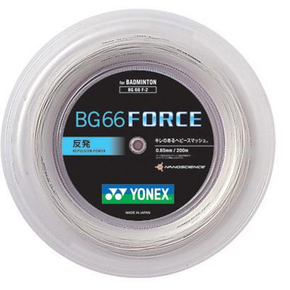 ヨネックス(YONEX) バドミントンロールガット 200m BG66フォース BG66F-2