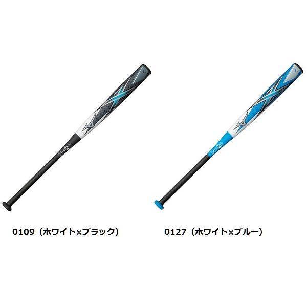 ミズノ(MIZUNO)ソフトボール用バット ミズノプロ エックス 3号革 ゴムボール用 1CJFS10684