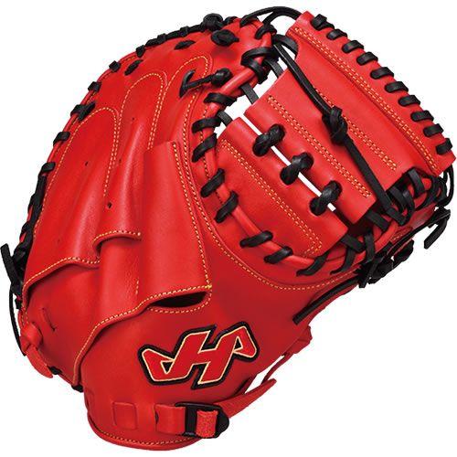 ハタケヤマ(HATAKEYAMA)少年軟式野球用ミット TH-Jrシリーズ TH-JR8RS レッド