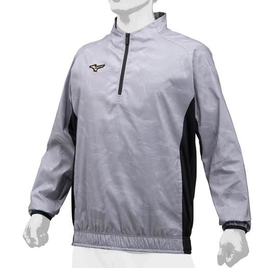 ミズノ(MIZUNO)ミズノプロ ハーフZIPトレーニングジャケット 12JE9J71-05