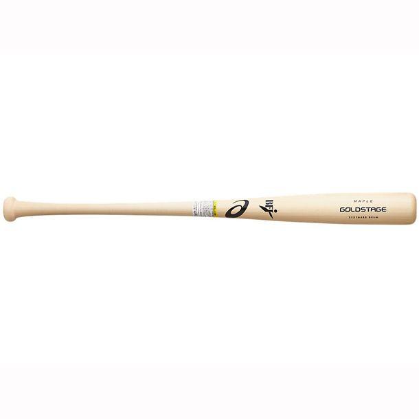 アシックス(asics) 硬式野球用木製バット ゴールドステージ 3121A480 110 田中広輔選手(広島東洋カープ)モデル