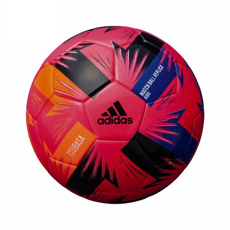 アディダス(adidas) サッカーボール4号球 ツバサ キッズ ピンク AF411P