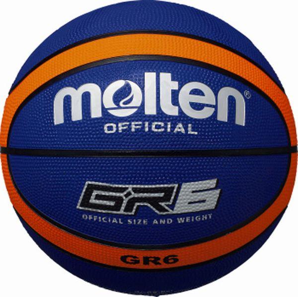 モルテン(molten) ゴムバスケットボール6号球 GR6 BGR6-BO
