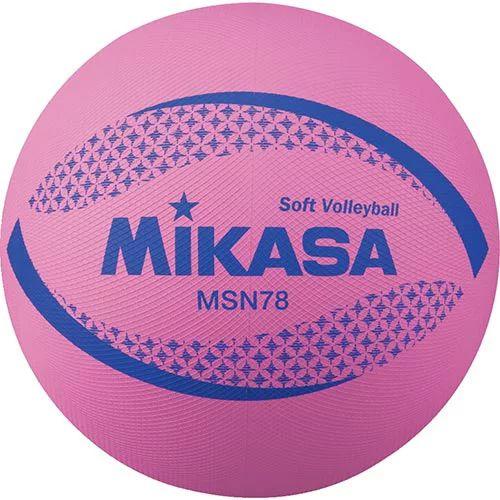 MAX200円クーポン 9 超特価 4 20:00~9 11 定番キャンバス ソフトバレーボール ミカサ MIKASA MSN78-P 1:59迄