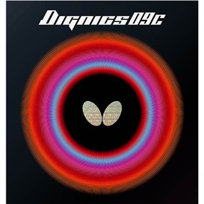 メール便対応 バタフライ 激安挑戦中 Butterfly 贈呈 06070 卓球ラバー ディグニクス09C