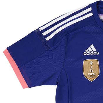 Adidas Japan national team soccer Home Replica Jersey S/S