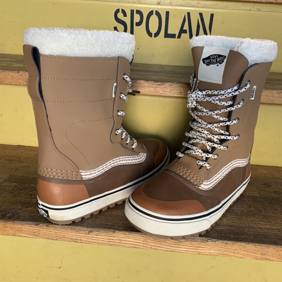 VANS バンズ 【STANDARD SNOW BOOTS】 BROWN/WHITE スノーシューズ US-9.0(27.0cm) 正規品