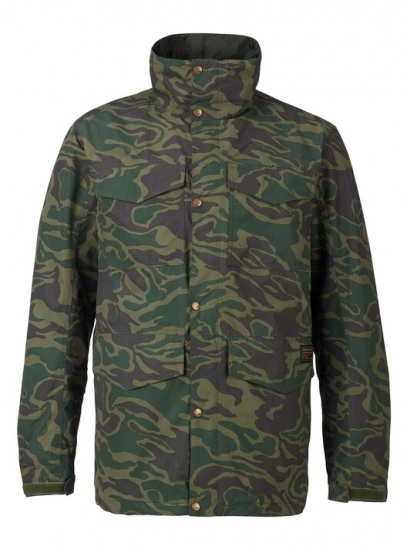 ANALOG アナログ 2018 【Tollgate Jacket】 Rifle Green Noodle Camo カモ柄 US-Ssize 正規品