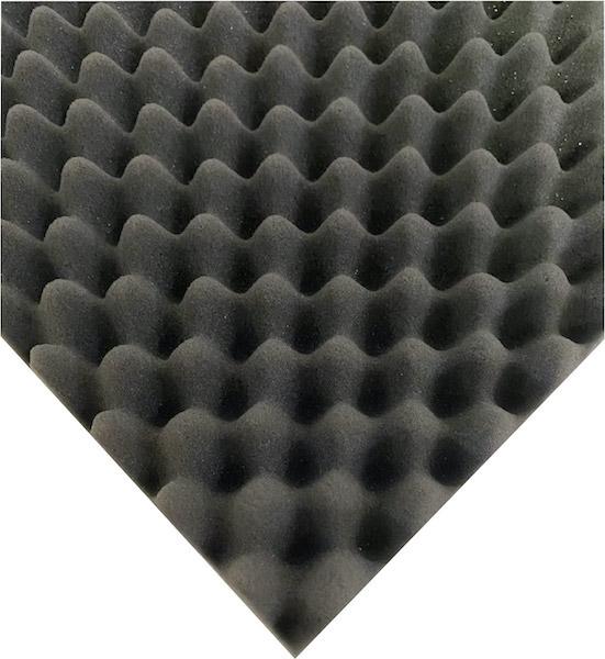 ソフトタッチで ヘタリが少なく 梱包緩衝材 クッション材など 軟質ウレタンスポンジ ECS 波型 のり付き 2枚セット スピード対応 全国送料無料 安価 揺れや衝撃から大切なものを保護 高弾性で 軽量 厚70.0mm幅1000mm×長2000mm@4250 適度な硬度を持ち ケース蓋内装 ※アウトレット品 機材をソフトに押さえ 枚