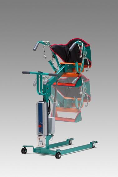 【移動移乗器具】ONBU 7【台座式床走行リフト】【腕の麻痺・立てない・歩けない・腰が曲がっている】介護者の車椅子・トイレ・車への移動移乗を楽に・安全に【要介護1~5対応】セパレートサポートカバーで簡単に快適に移動移乗【厚生労働省 TAIS 01667-000001】