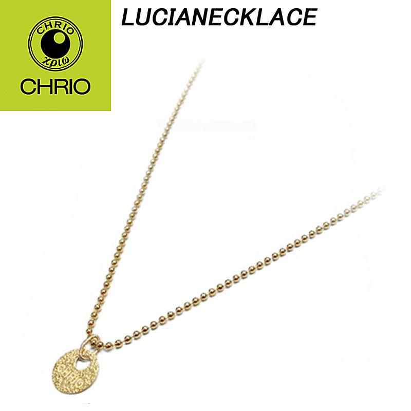 【送料無料】 CHRIO クリオ LUCIANECKLACE ルシアネックレス