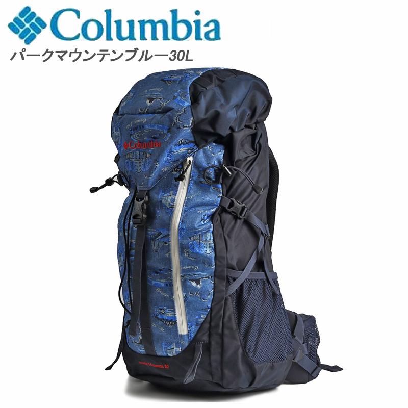 【あす楽】【送料無料】 コロンビア バークマウンテンブルー30Lバックパック Burke Mountein Blue 30L Backpack PU8337