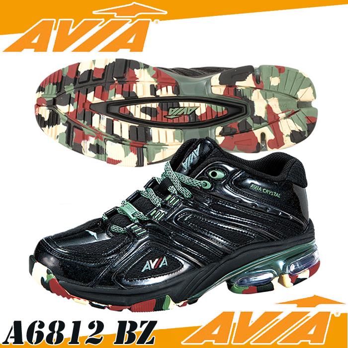 【あす楽】【送料無料】 AVIA アヴィア フィットネスシューズ A6812W BZ