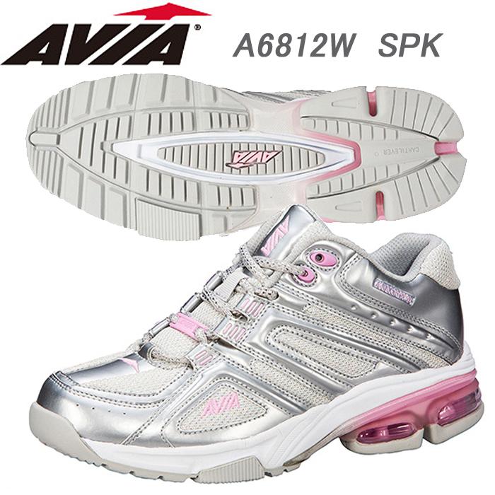 【あす楽】【送料無料】 AVIA アヴィア フィットネスシューズ A6812W SPK