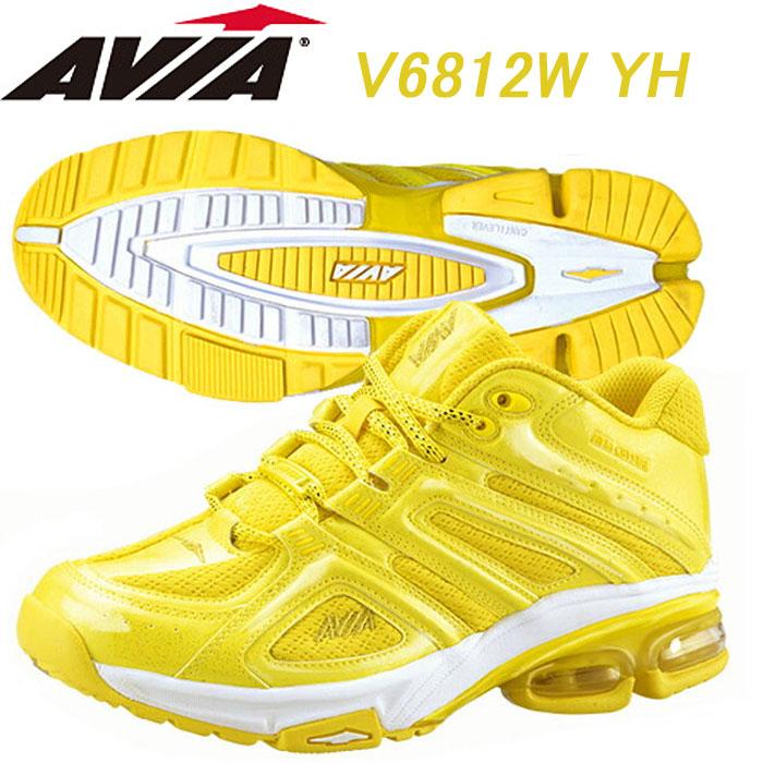 【あす楽】【送料無料】 AVIA アヴィア フィットネスシューズ A6812W YH