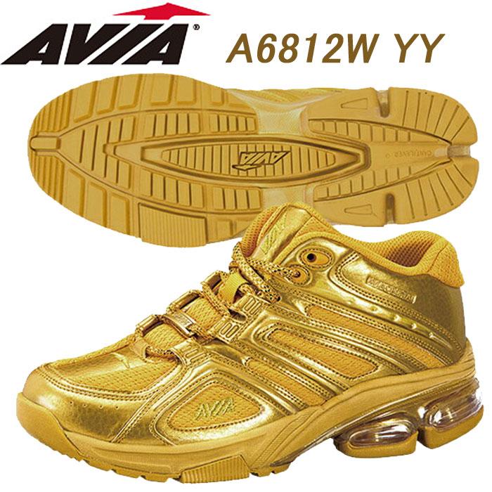 【あす楽】【送料無料】 AVIA アヴィア フィットネスシューズ A6812W YY