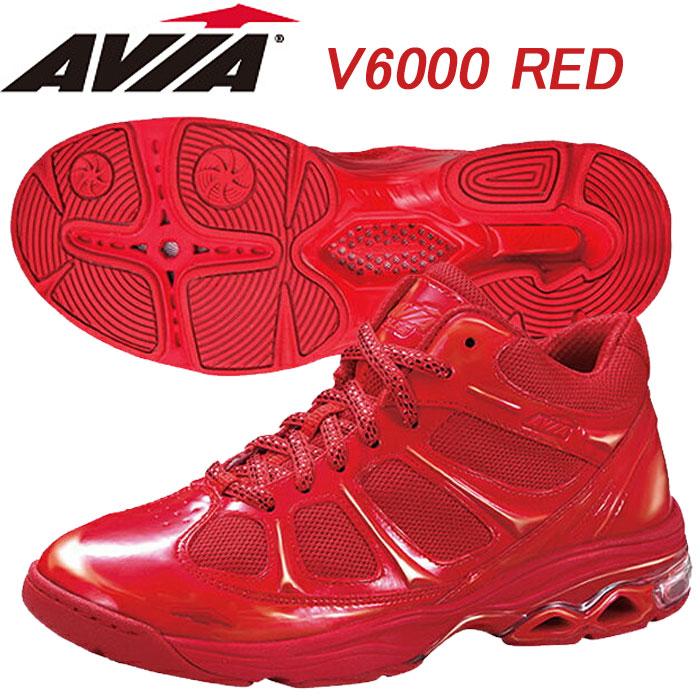 【あす楽】【送料無料】 AVIA アヴィア フィットネスシューズ V6000 RED