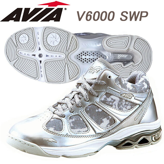 【あす楽】【送料無料】 AVIA アヴィア フィットネスシューズ V6000 SWP