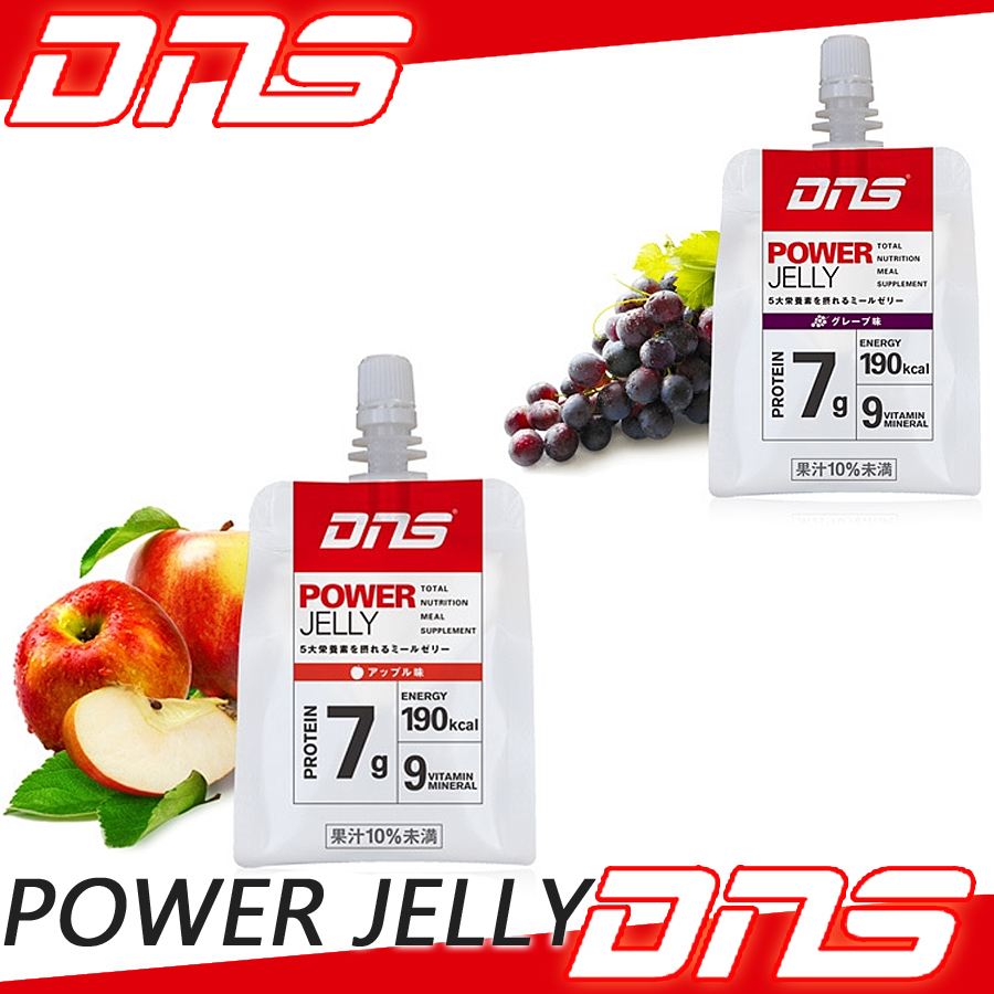 DNS POWER JELLY power serie 180 g x 6