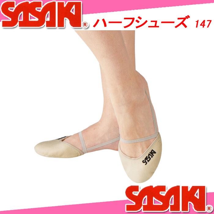 SASAKI Sasaki half shoe 147 rhythmic Sasaki sports
