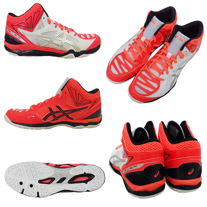 ASICS ASICs Volleyball Shoes GEL-V SWIFT CV MT gel V swift CV MT TVR484