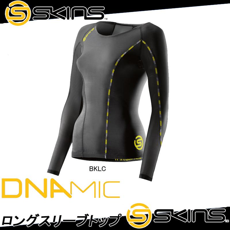 【送料無料】 SKINS スキンズDNAMIC ウィメンズ ロングスリーブトップ DK9906005