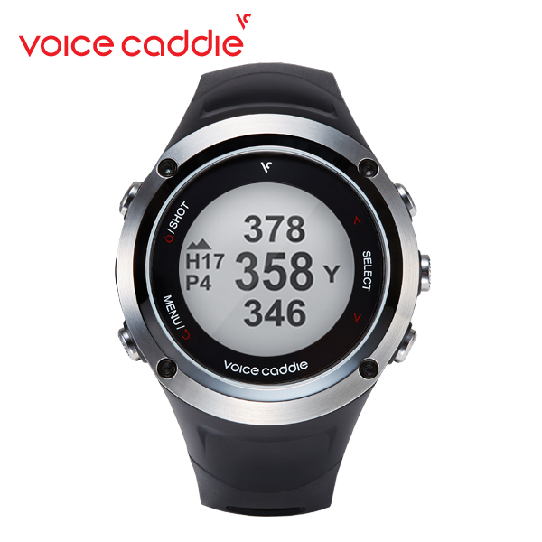Voice Caddie T2A 時計型 GPS 距離測定器 / ボイスキャディ 2018年モデル