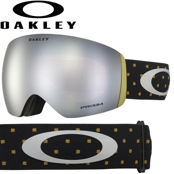 (10月11日ごろ発送予定) OAKLEY オークリー プリズム スノー ブラック イリジウム スノー ゴーグル フライトデッキ OO7050-68 / FLIGHT DECK USAモデル 2019年