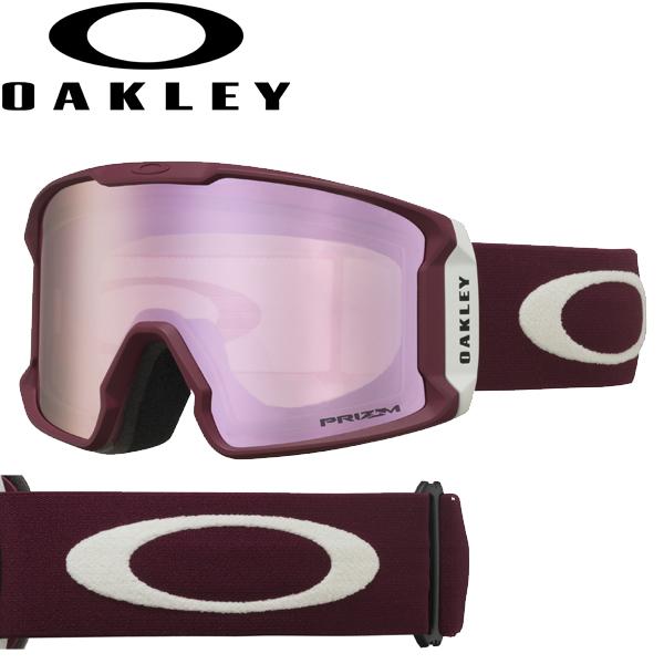 (10月11日ごろ発送予定) OAKLEY オークリー プリズム スノー ハイ インテンシティ ピンク スノー ゴーグル ラインマイナー OO7070-44 / LINE MINER USAモデル 2019年