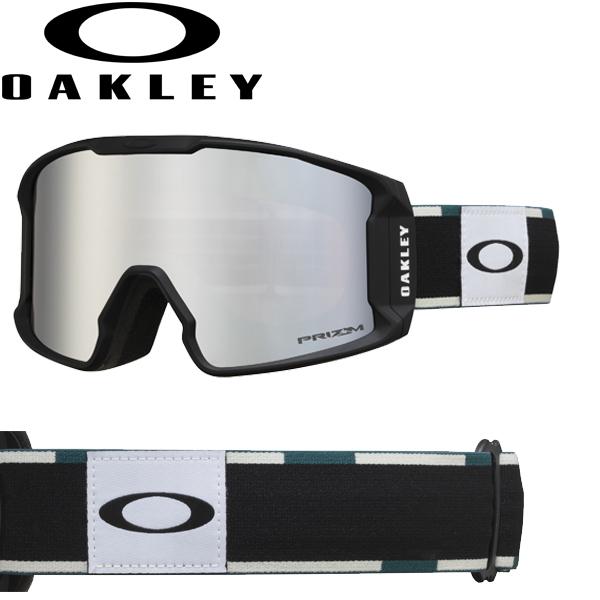 (10月11日ごろ発送予定) OAKLEY オークリー プリズム スノー ブラック イリジウム スノー ゴーグル ラインマイナー XM OO7093-20 / LINE MINER XM USAモデル 2019年