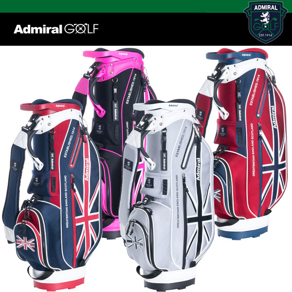 アドミラル ゴルフ キャディバッグ ADMG 8SC4